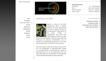 Videofilmproduktion Obexer