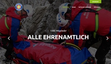 Bergrettung Südtirol im AVS