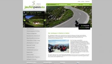 Jaufenpass - Bikers Paradise